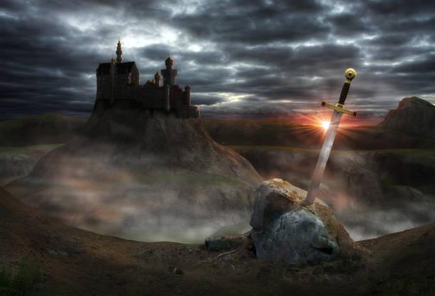 卡米洛特夢幻城堡 - sword 個照片及圖片檔
