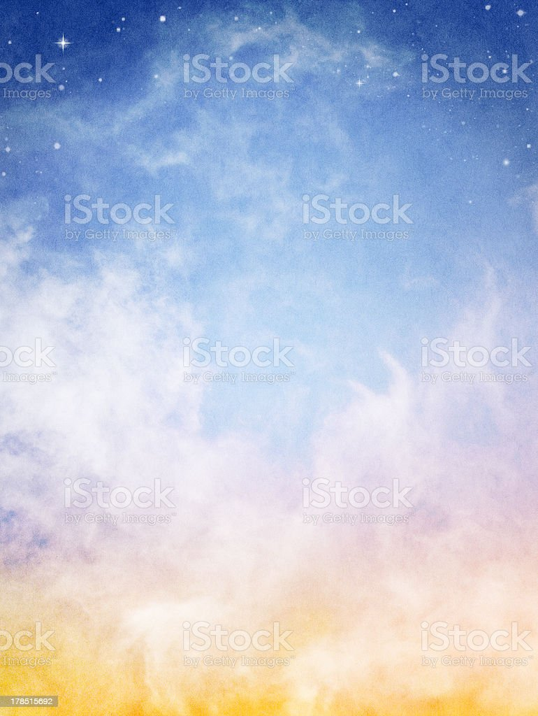 Fantasy Clouds stock photo