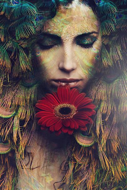 fantasy fairy stock photo