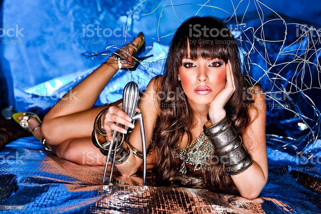 Fantasy girl royalty-free stock photo