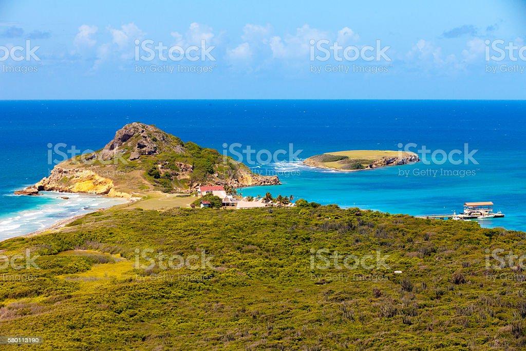 Fantasy Island stock photo