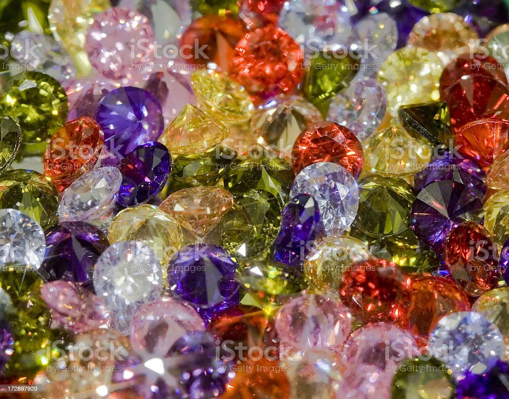 Fantasy Jewels Macro royalty-free stock photo