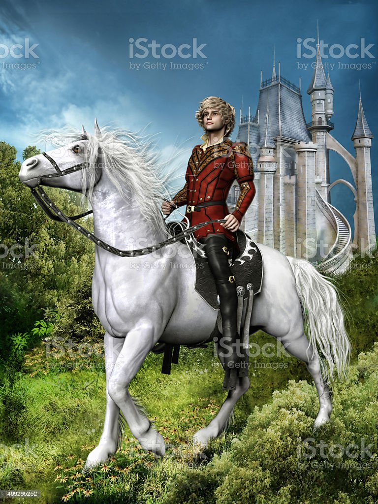 Fantasy Prince On A Horse Stock Photo Download Image Now Istock