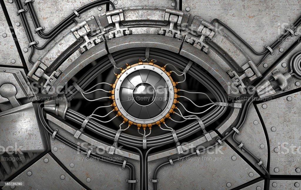 Fantasy Roboter's eye. – Foto