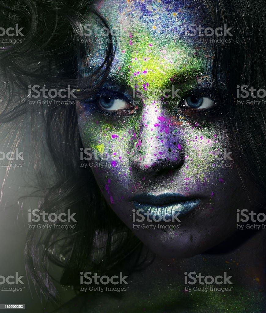 fantasy woman royalty-free stock photo
