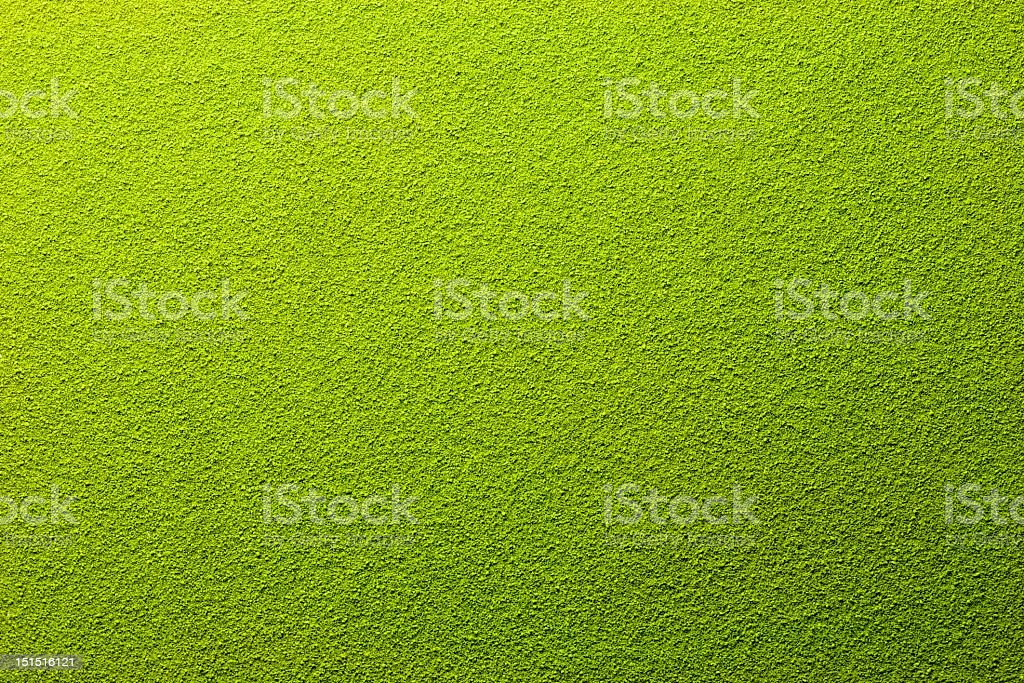 Far away overhead view of powdered green tea royalty-free stock photo