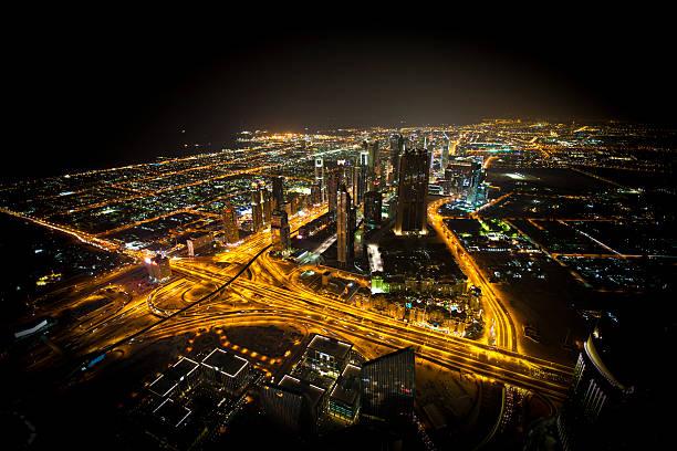 dubai city Nächte – Foto