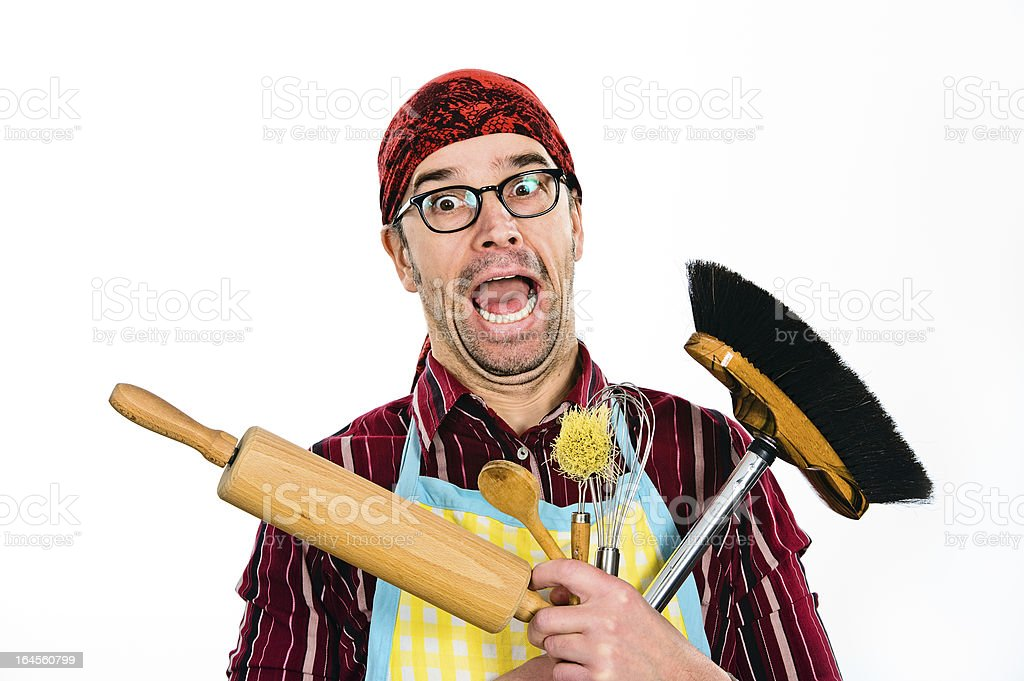 far too much housework royalty-free stock photo