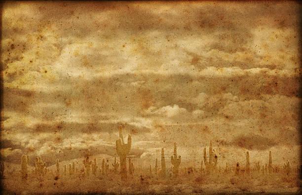 Far West Badlands fond Grunge - Photo