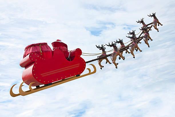 farewell santa claus - nikolaus geschichte stock-fotos und bilder
