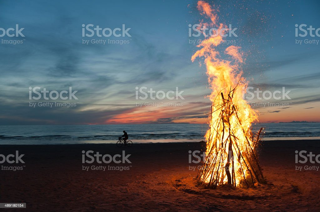 farewellSummer stock photo