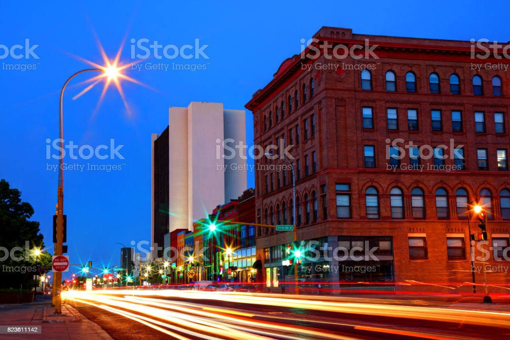 Fargo, North Dakota royalty-free stock photo