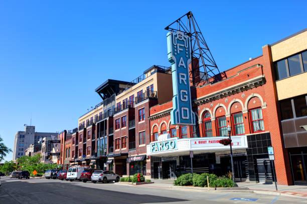 Fargo, North Dakota stock photo