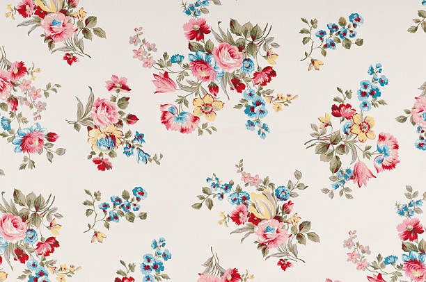 Farleigh moyen en tissu Floral Antique - Photo