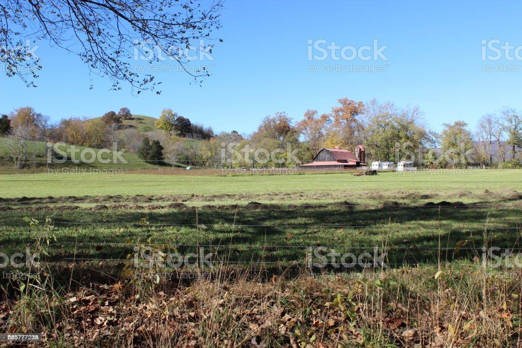 Farm 6 royalty-free stock photo