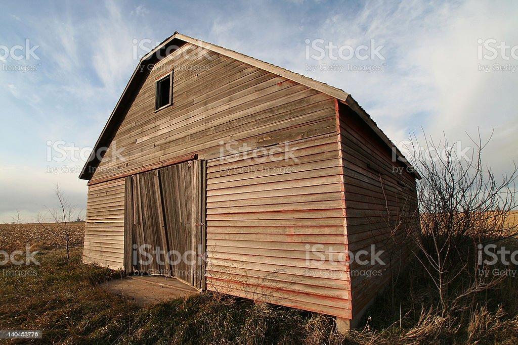 Farm Barn royalty-free stock photo