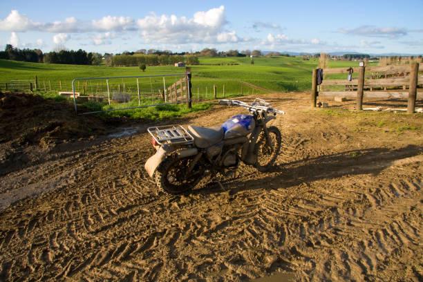 Farm Bike stock photo