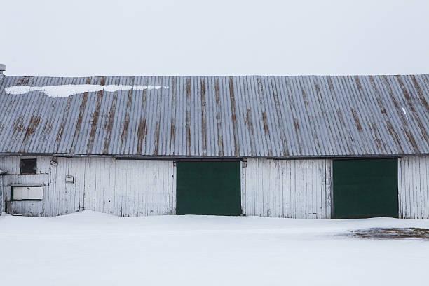 Ferme en hiver - Photo