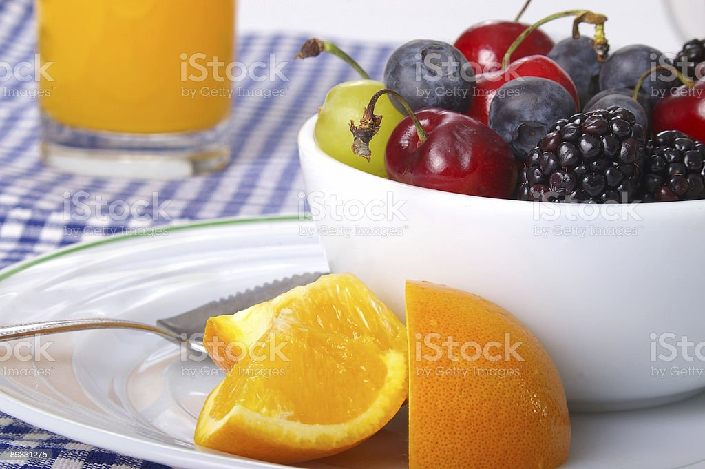 Farm Fresh Fruits royalty-free stock photo