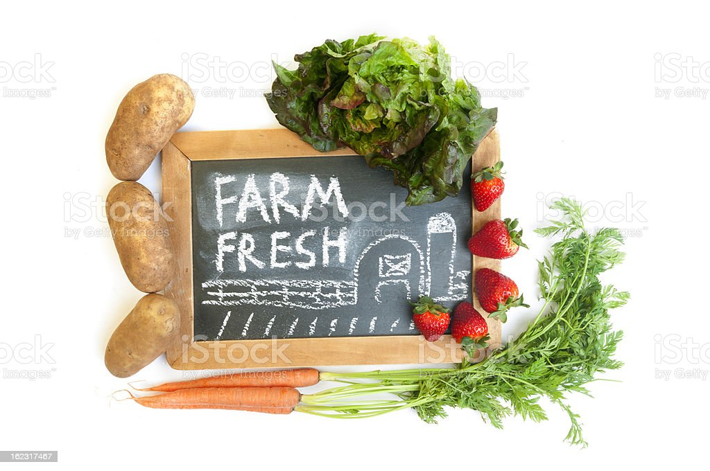 Farm Fresh royalty-free stock photo