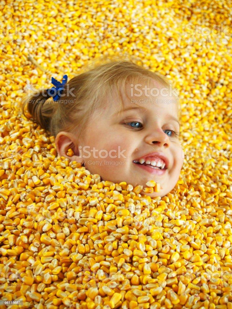 Farm Girl royalty-free stock photo