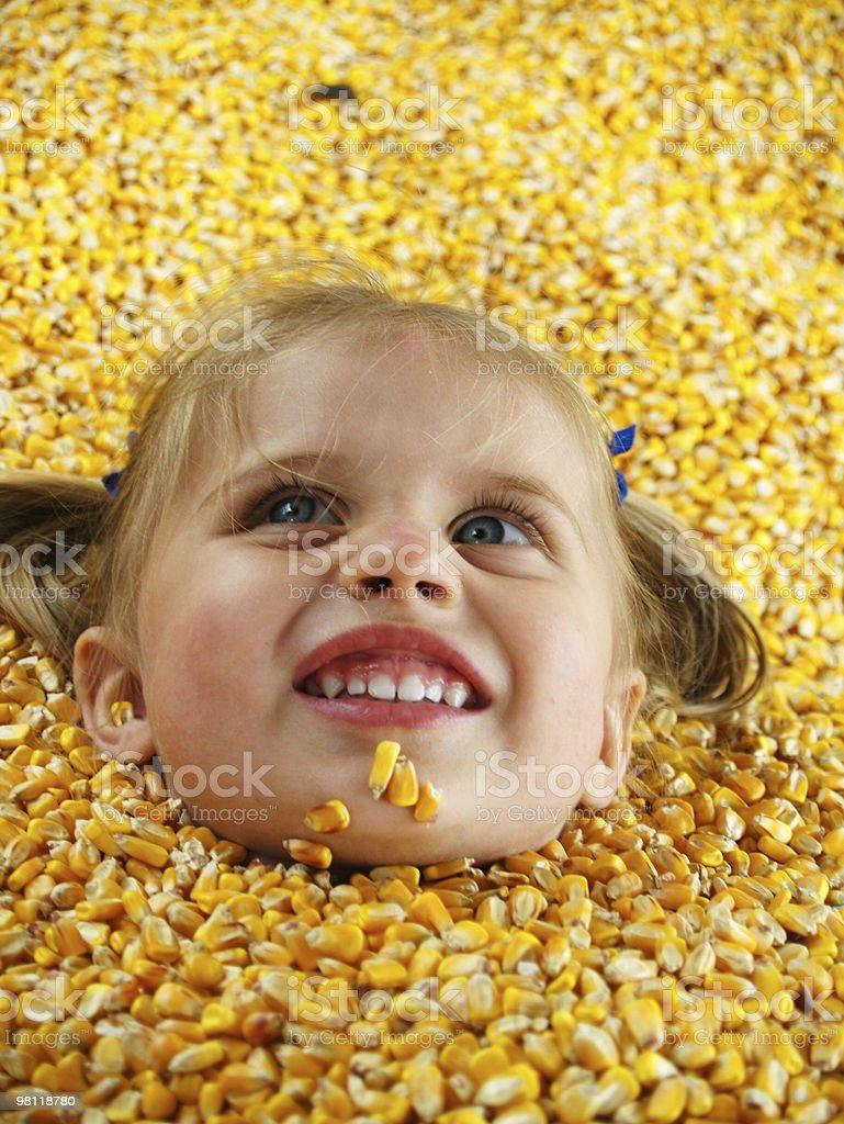 Farm ragazza foto stock royalty-free