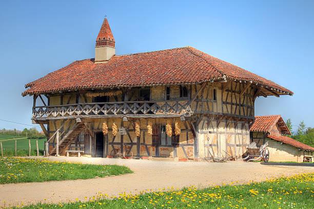 Farm House nahe Bourg-en-Bresse, Frankreich – Foto