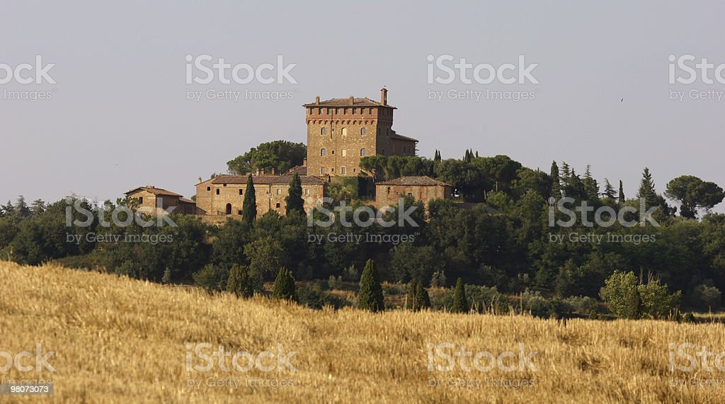 Farm in Toscana foto stock royalty-free