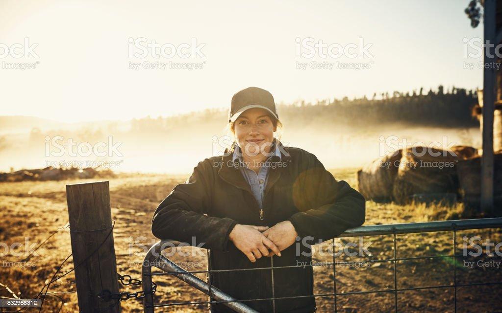 Leben auf dem Bauernhof ist das Leben für mich – Foto