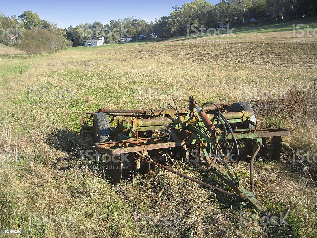 Farm Machinery royalty-free stock photo