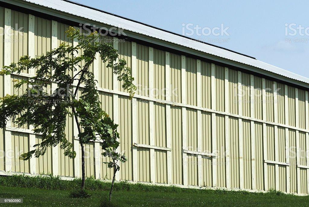 Farm Storage Shed royalty-free stock photo