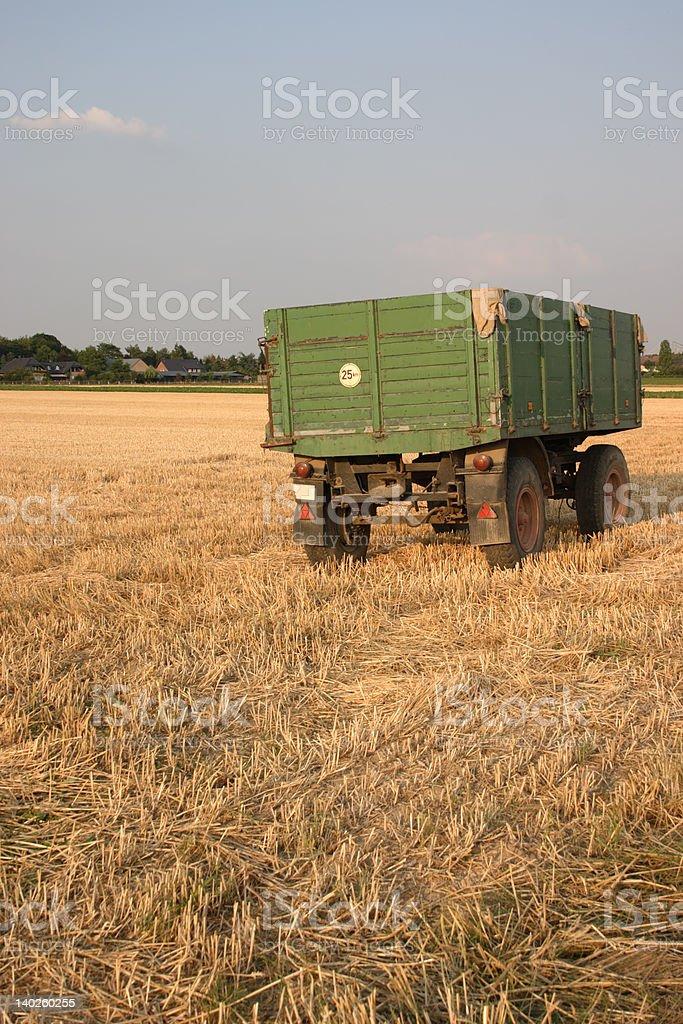 Farm Trailer royalty-free stock photo