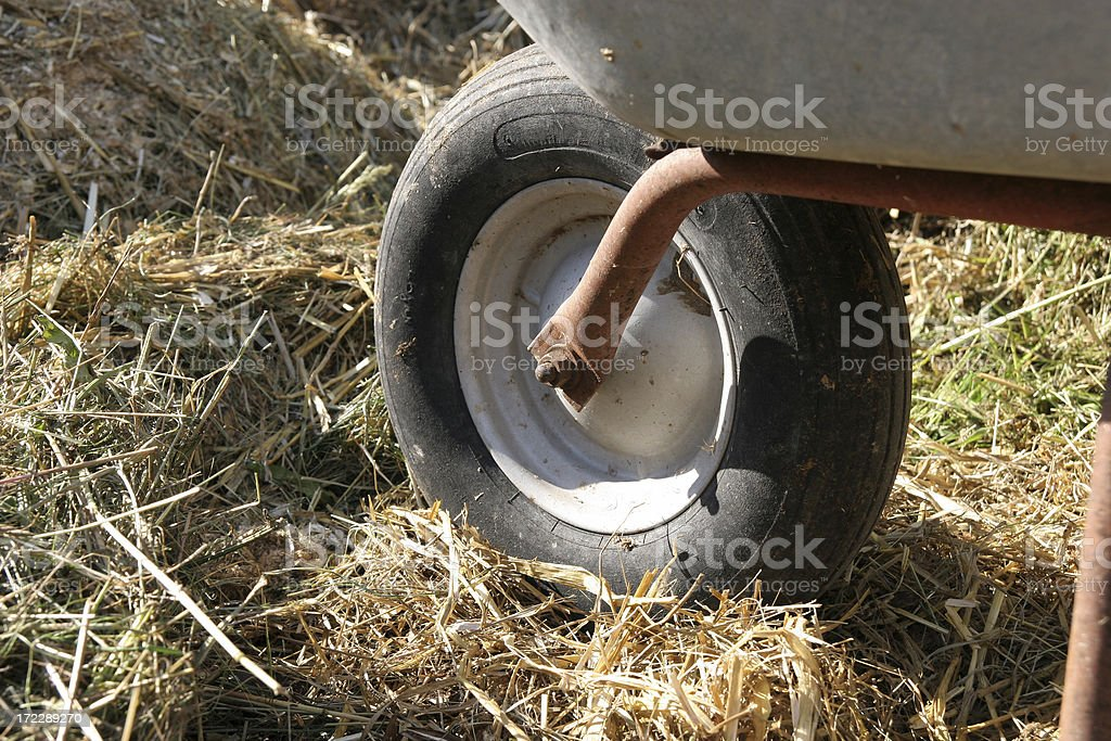 Farm working royalty-free stock photo