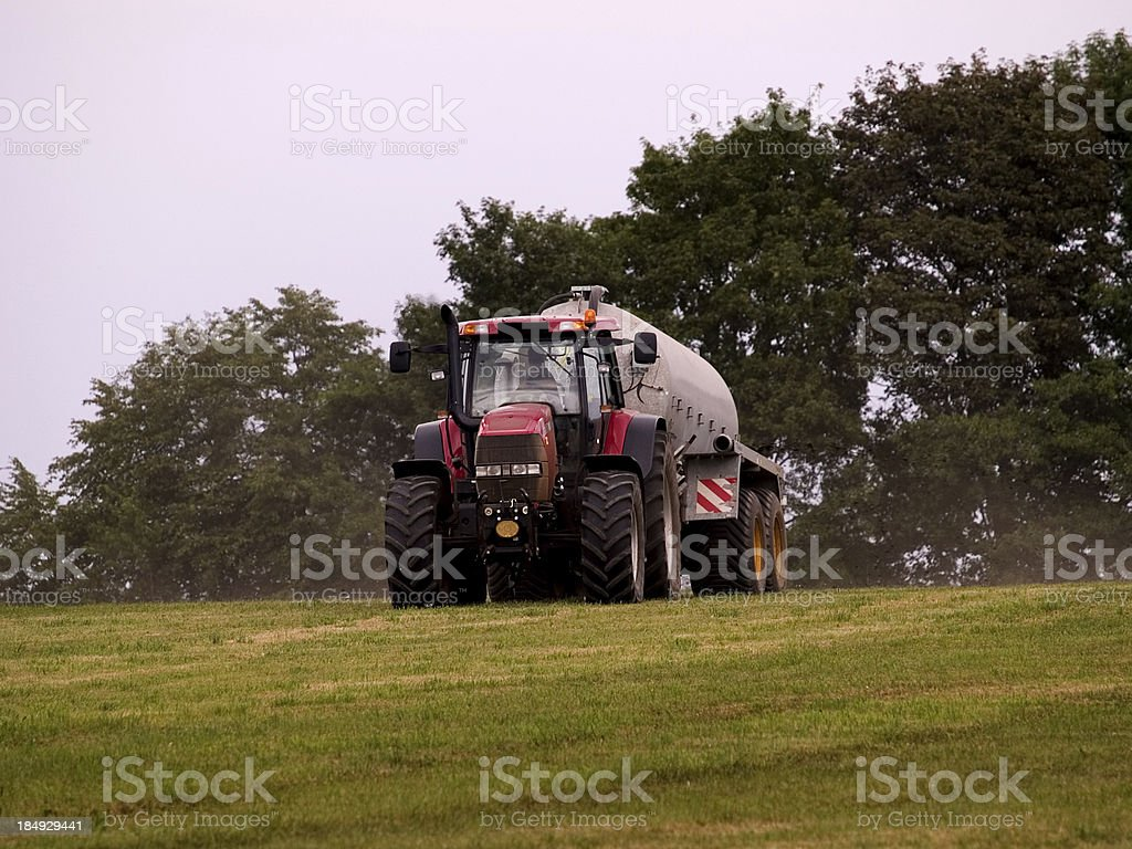 Farme working royalty-free stock photo