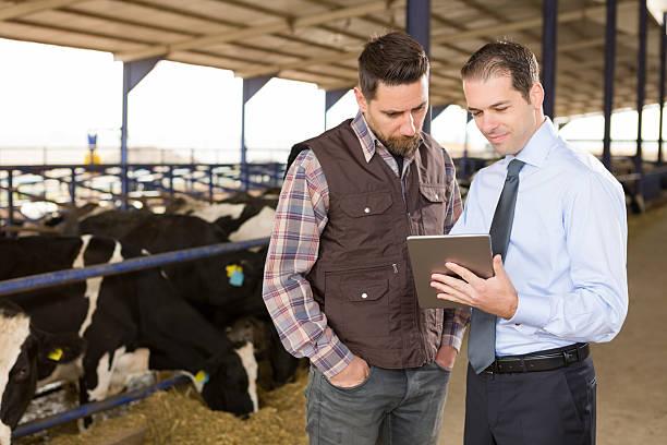Landwirt und Finanzberater – Foto