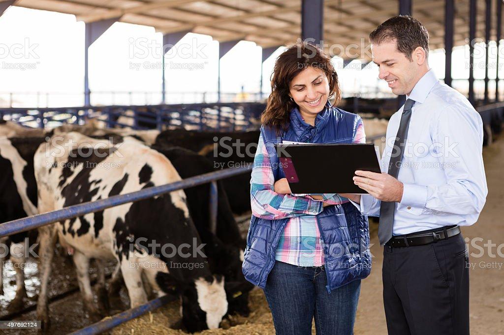 Agriculteur et Conseiller financier - Photo