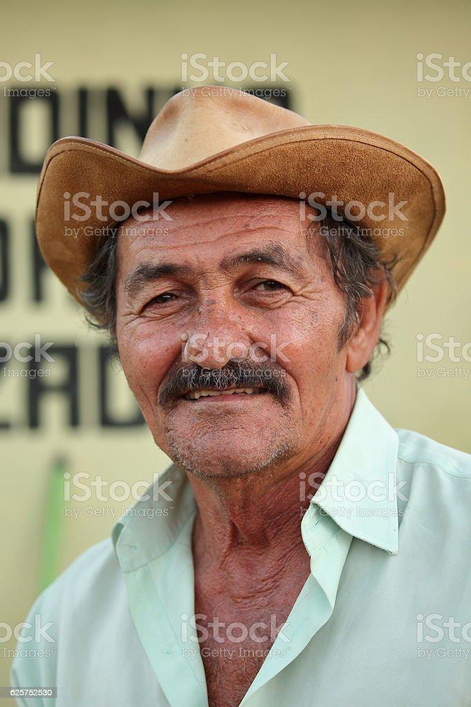 Farmer from Brazil stock photo