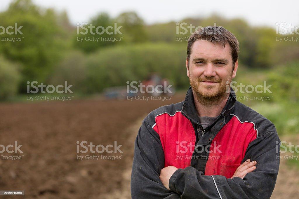 farmer Portrait - Photo