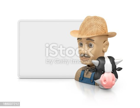 624869600 istock photo farmer profile 185007212
