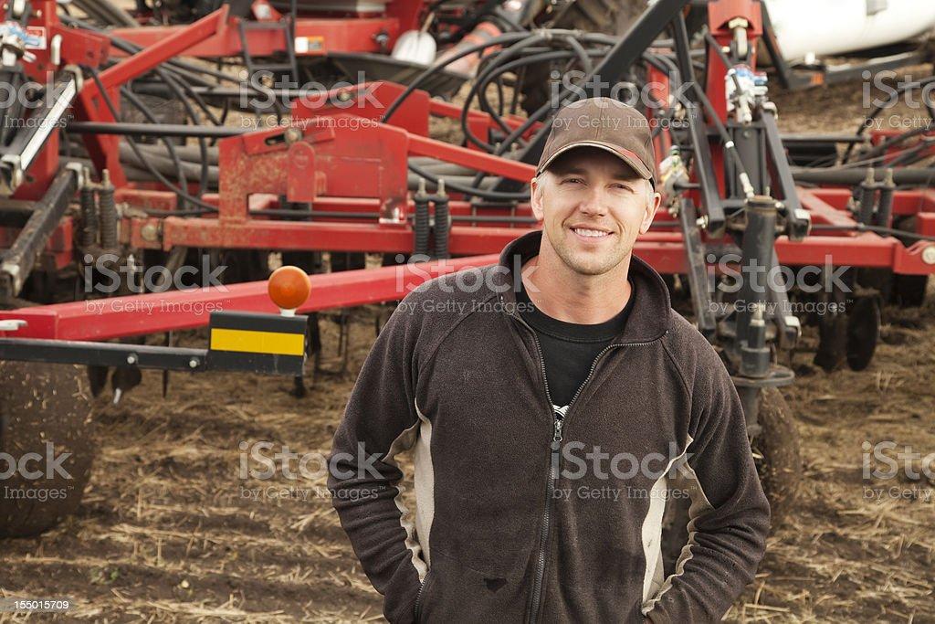 Farmer Seeding – Foto