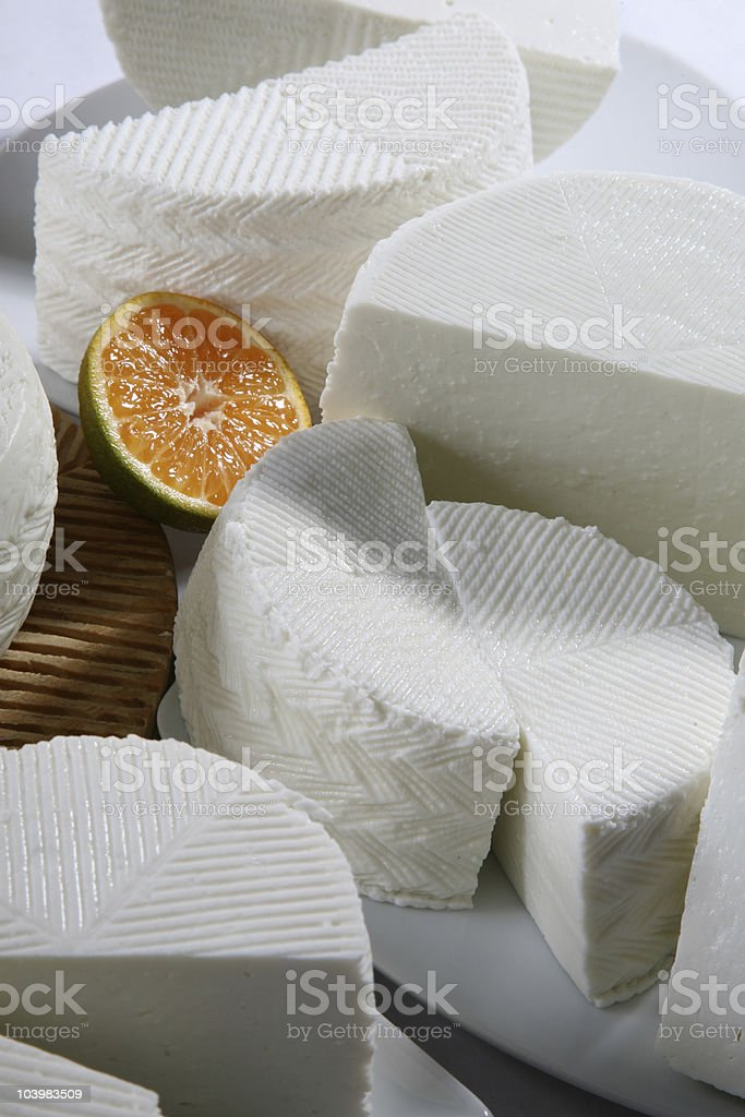 farmer's cheese royalty-free stock photo