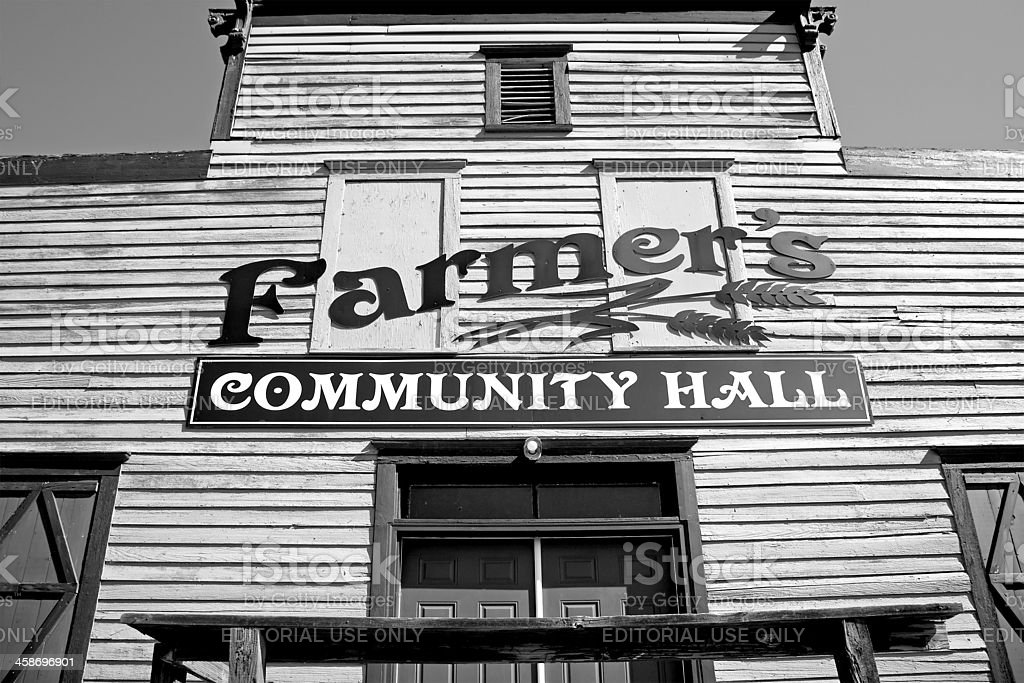 Farmer,Washington, United States - August 5, 2011 : Black and White....
