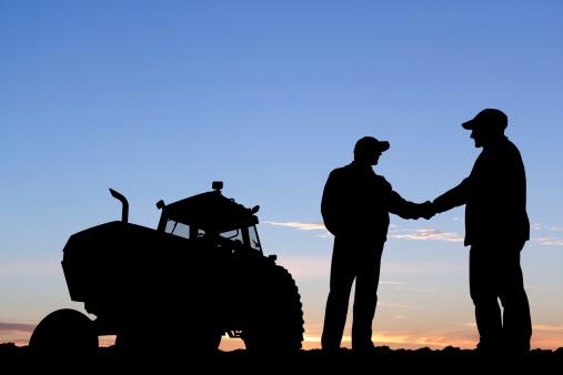 Farmers Handshake Stock Photo - Download Image Now