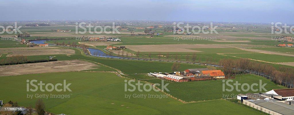 Farmers land stock photo