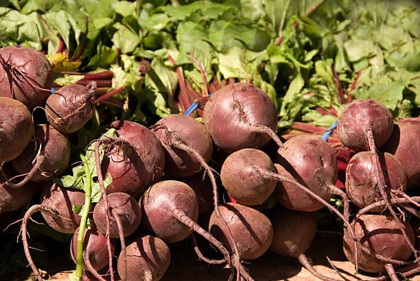 Farmer's Market Beets stock photo