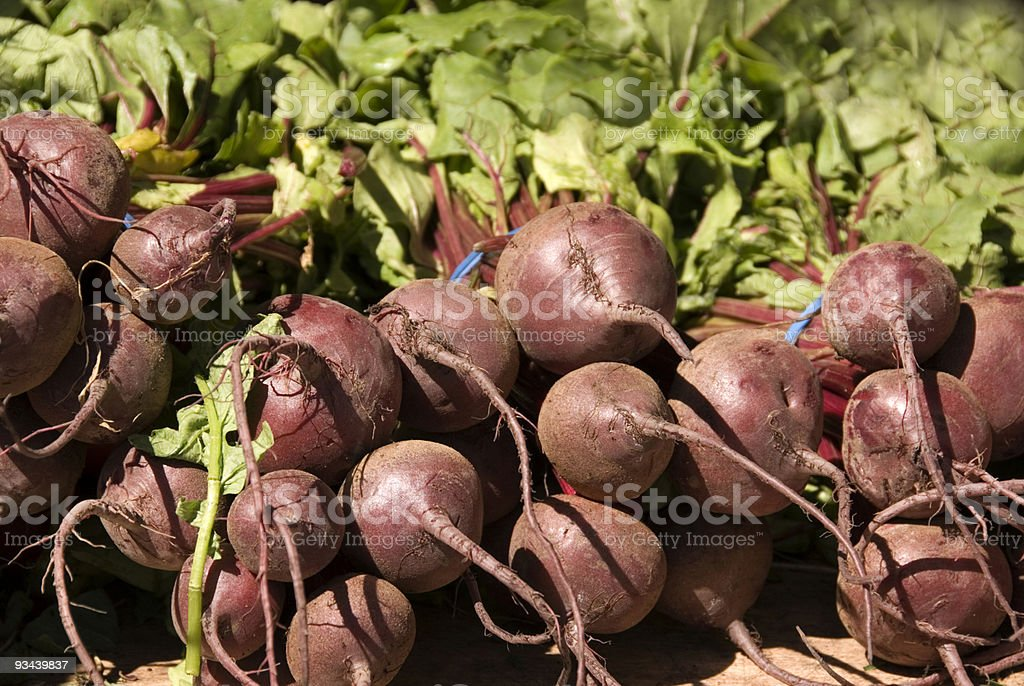 Farmer's Market Beets stock photo