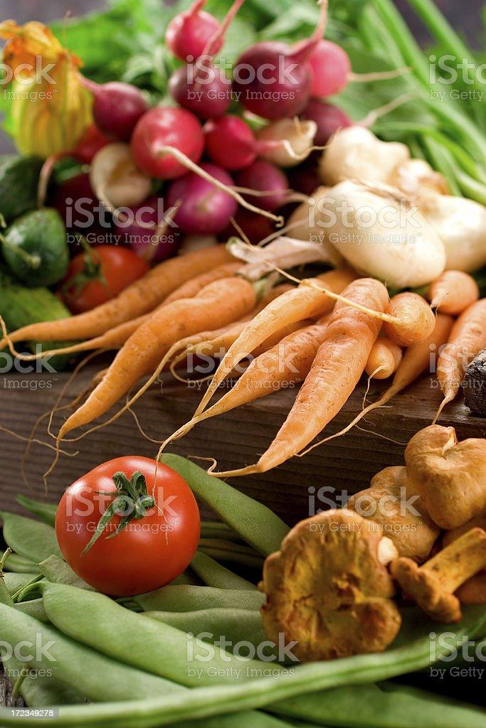 Farmer's Market - Organic Produce royalty-free stock photo