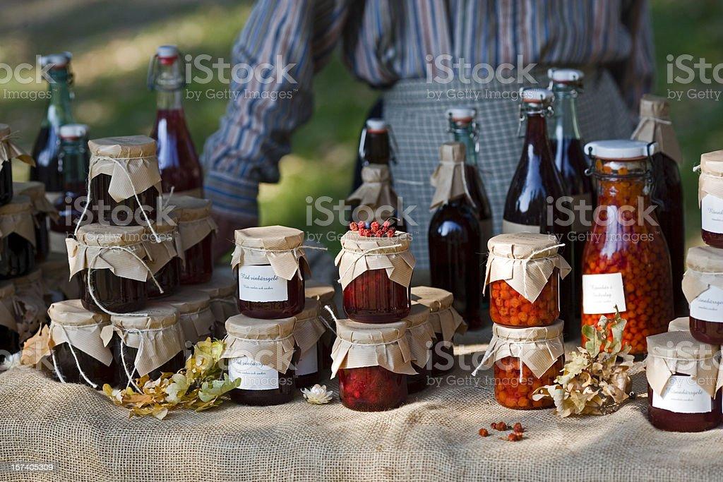 Farmer's market (Sweden) royalty-free stock photo