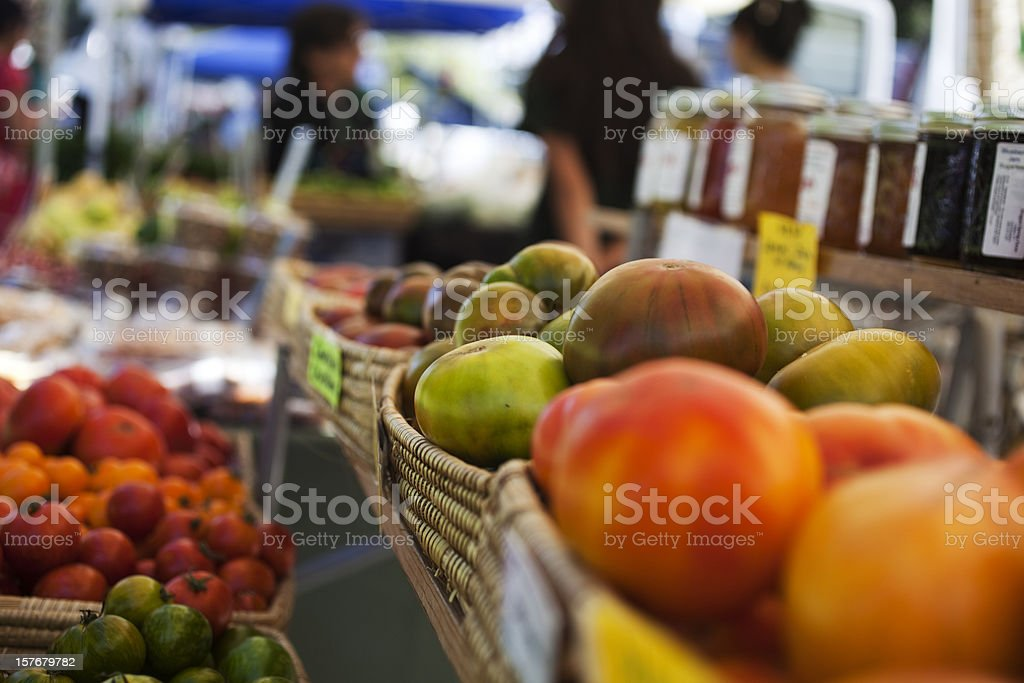 Farmer's Market royalty-free stock photo