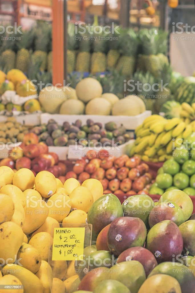 Farmers Market - Royalty-free Banana Stock Photo